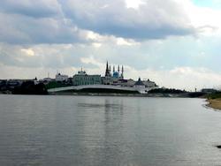Северо-западная панорама с Ленинской дамбы