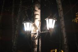 фонарь возле здания БКЗ