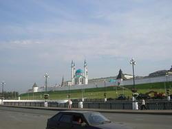 Вид на Казанский Кремль со стороны Булака