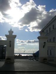 двор Юнкерского училища, вид с проезда Шейнкмана