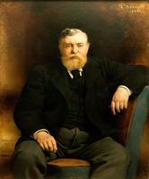 ЛЕОН БОННА 1833- 1922 Портрет князя В.Н. Тенишева. 1896 Холст, масло