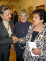 Р. Якупова принимает поздравления