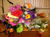 Цветы от поклонников