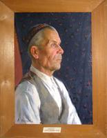 Портрет Габдрахмана Якупова 1953