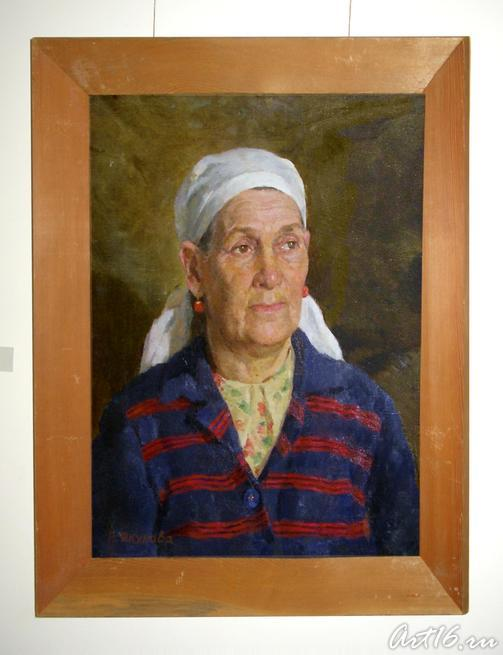 Портрет Магикамал Якуповой 1953