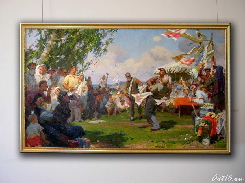 Сабантуй 1957. Фаттахов Л.А. 1918-1981::Искусство советского Татарстана