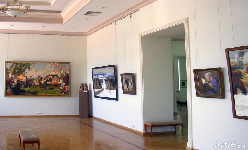 Выставочный зал::Искусство советского Татарстана