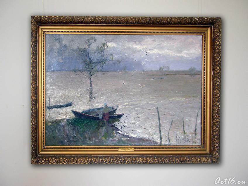 Фото №19299. Большая вода, 1984. Прокопьев А.Л. 1922
