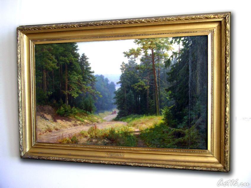 Фото №19305. Сосновый лес. Спуск к Каме, 1953. Максимов К.Е. 1894-1981