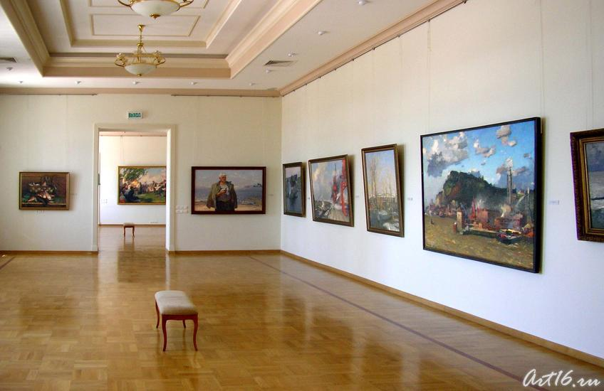 Фото №19311. Экспозиция выставочного зала