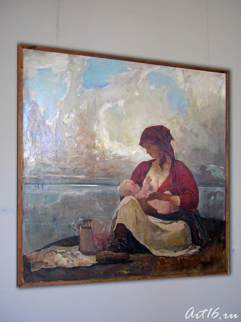 Мать, 1970. Фёдоров В.::Искусство советского Татарстана