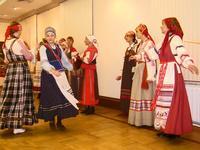 Вытупление фольклорных коллективов