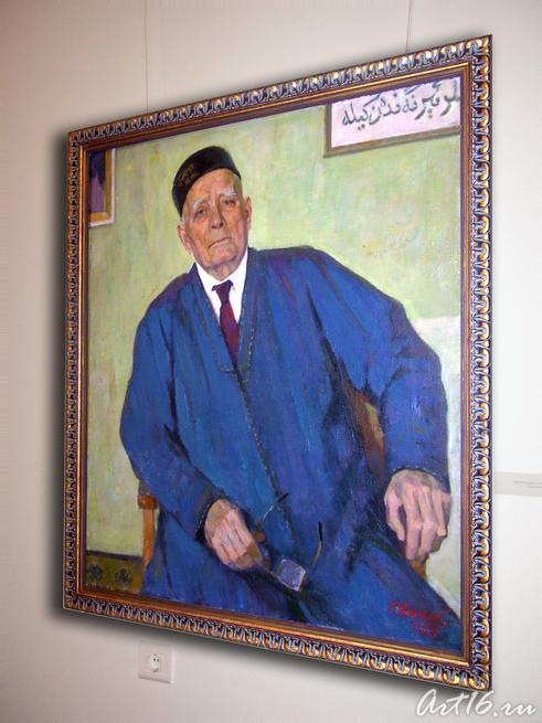 Портрет Баки Урманче. 1989