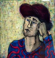 BBYX II. Женщина в красной шляпе. 2013. Марти Макки, США, Сан-Франциско