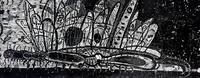 ТЕРЕГУЛОВ АЙРАТ РАУФОВИЧ. 1957 Россия, Башкортостан, Уфа ЖИВОТНЫЕ-11. 2011 Бумага, линогравюра