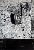 ТЕРЕГУЛОВ АЙРАТ РАУФОВИЧ. 1957 Россия, Башкортостан, Уфа ИНСТИНКТ-XXVI. 2007 Бумага, линогравюра