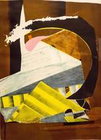 ДАНИЛЕНКО ВАЛЕНТИН НИКОЛАЕВИЧ. 1953 Латвия, Рига ХРАМ ДЛЯ АТЕИСТА. 2012 Бумага, цветная литография