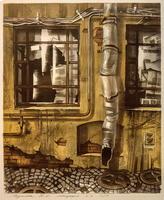 НУРИМОВА ДИНАРА САБИТОВЫ А. 1988 Россия, Санкт-Петербург ПЕТЕРБУРГСКИЙ ДВОР. 2012 Бумага, цветная литография