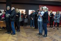 На открытии « II Казанской международной биеннале печатной графики»