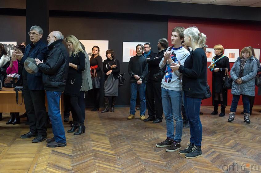 Фото №204158. На открытии « II Казанской международной биеннале печатной графики»