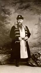 С. Левицкий Гофмейстер Алексей Густавович фон-Кнорринг в костюме боярина XVII века.