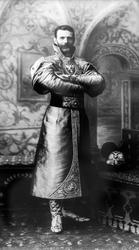 Д. Асикритов Его императорское Высочество Великий Князь Сергей Александрович в княжеском наряде XVII века