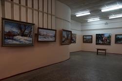 Ирик Мусин. Выставка в редакции газеты «Шахри Казан»