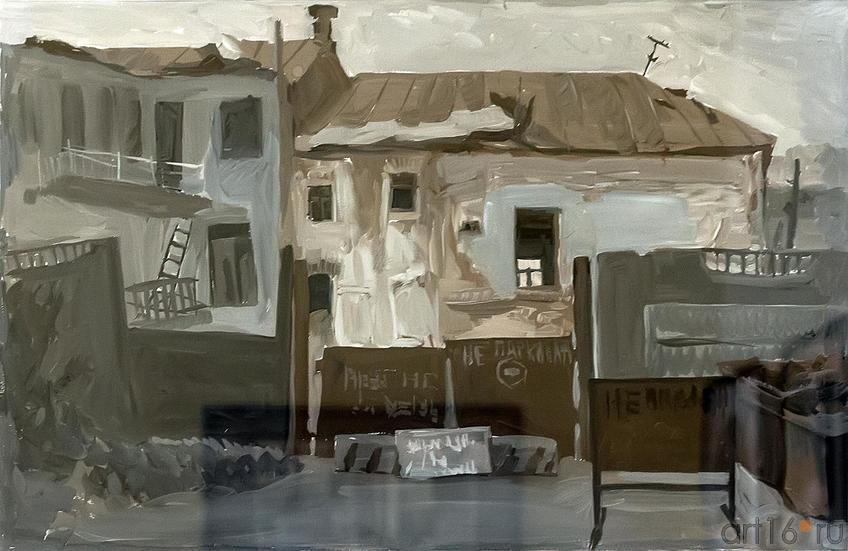 Фото №209331. Зеленова Ирина. серия работ ''Дворы Казанские''