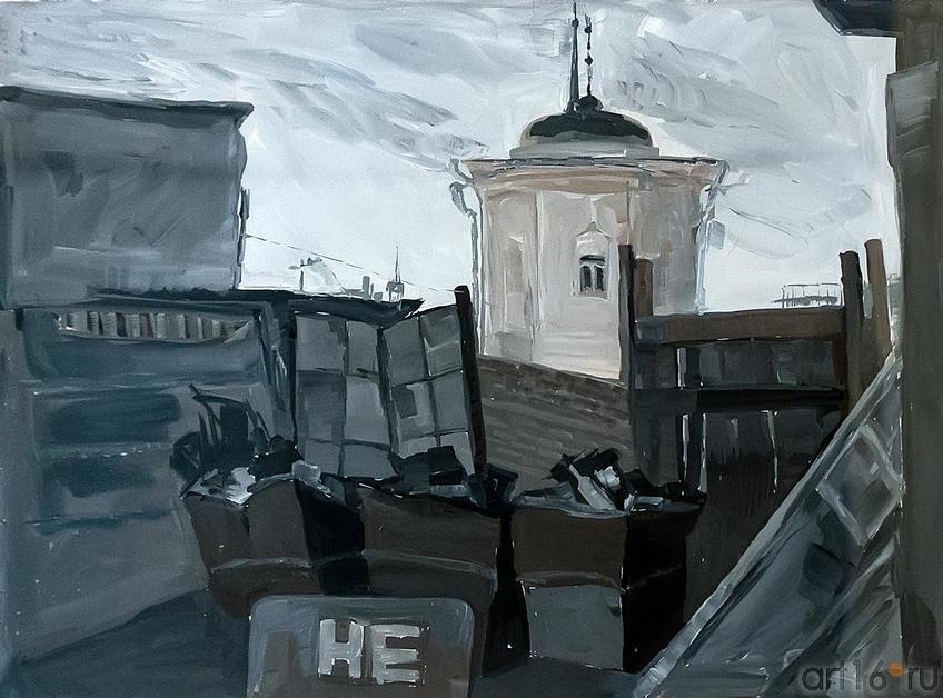 Фото №209337. Зеленова Ирина. серия работ ''Дворы Казанские''