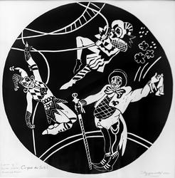 Кудряшова Станислава. серия работ ''Cirque du SoleII''
