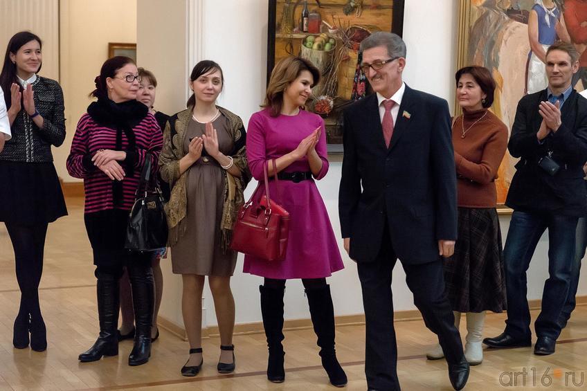 Фото №210511. На открытии выставки ''Реалистическое искусство Татарстана и России''