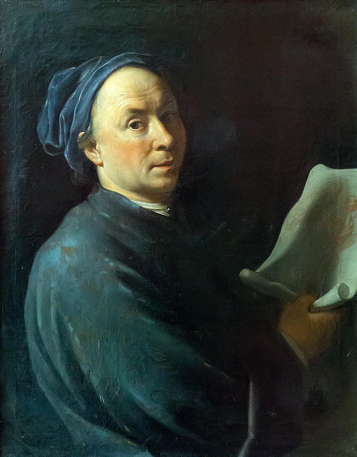 Фото №211291. ЛАРЖИЛЬЕР НИКОЛА ДЕ. 1656- 1746. АВТОПОРТРЕТ