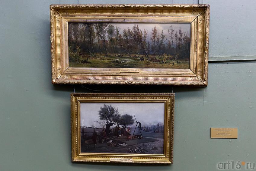 Фото №211924. ШИШКИН ИВАН ИВАНОВИЧ. 1832-1898 БЕРЕЗЫ ПОСЛЕ БУРИ. 1871 Холст, масло
