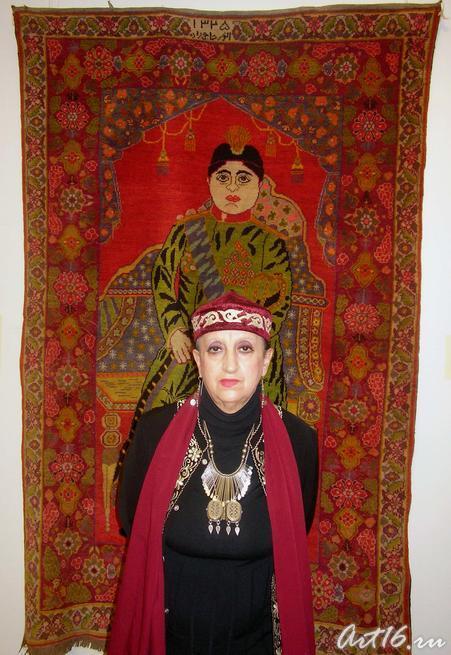 Метакса Татьяна Христофоровна::«Изобразительные ковры и каламкары мусульманского Востока»