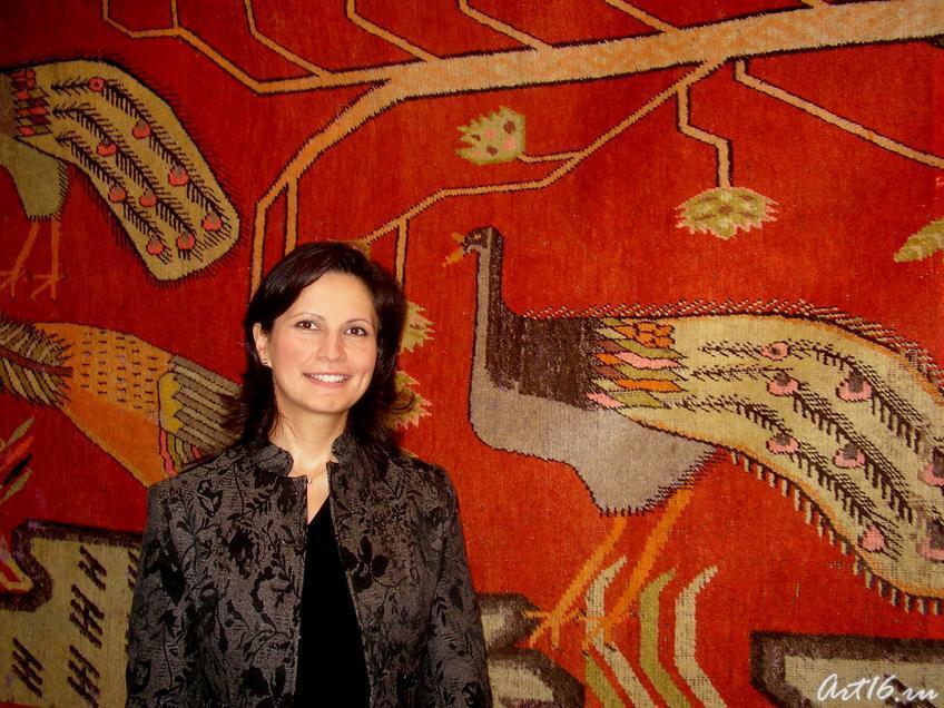 Супруга Генерального консула Республики Турция в Татарстане