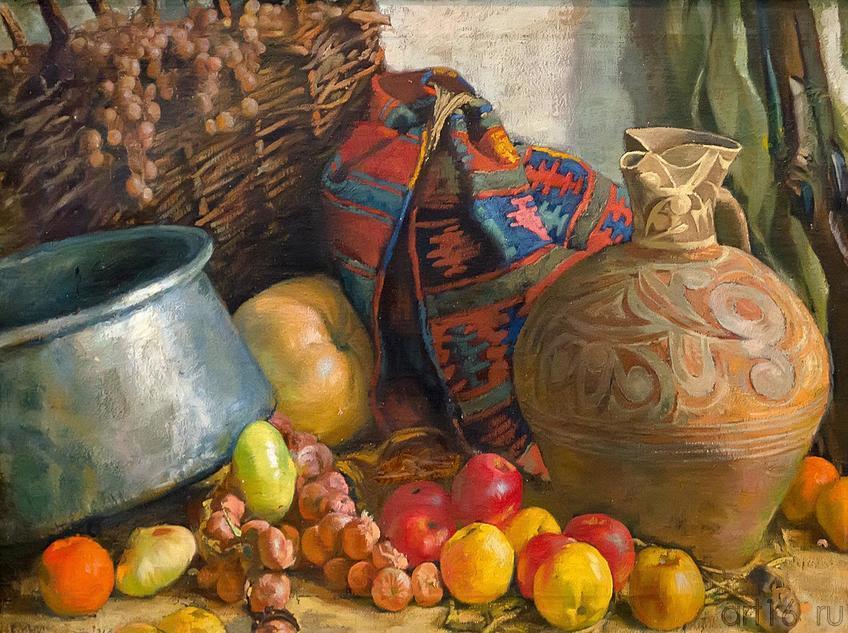 Фото №213663. ЛАНСЕРЕ Е.Е.1875-1946 НАТЮРМОРТ. 1918 Холст, масло