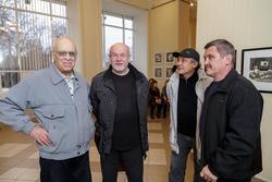 Открытие выставки ''Молодая графика''. Фотографии Андрея Титова