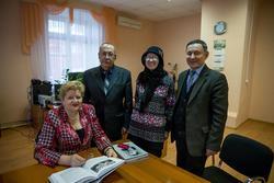 В кабинете Мифтахутдиновой Н.Р., Арск, декабрь 2013