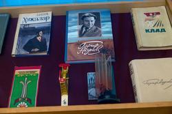 Фрагмент экспозиции. Гариф Ахунов. Арский музей литературы и  искусства