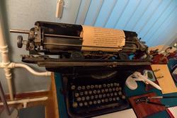 Печатная машинка Гарифа Ахунова