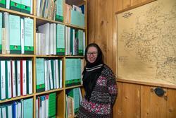 Наиля Ахунова в фондах Музея литературы и искусства, г. Арск