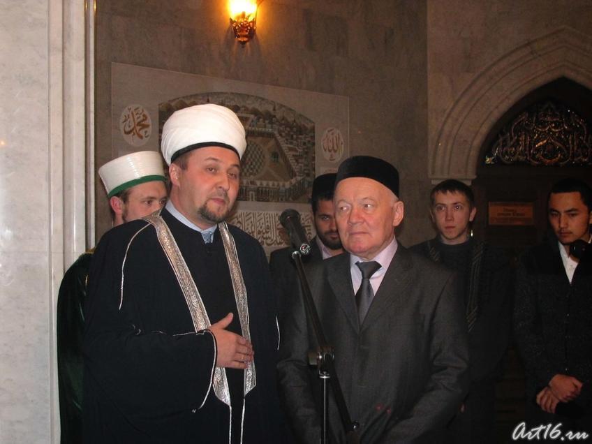 Фото №21744. Имам-хатыб мечети Кул Шариф Рамиль Юнусов и Шамиль Закиров