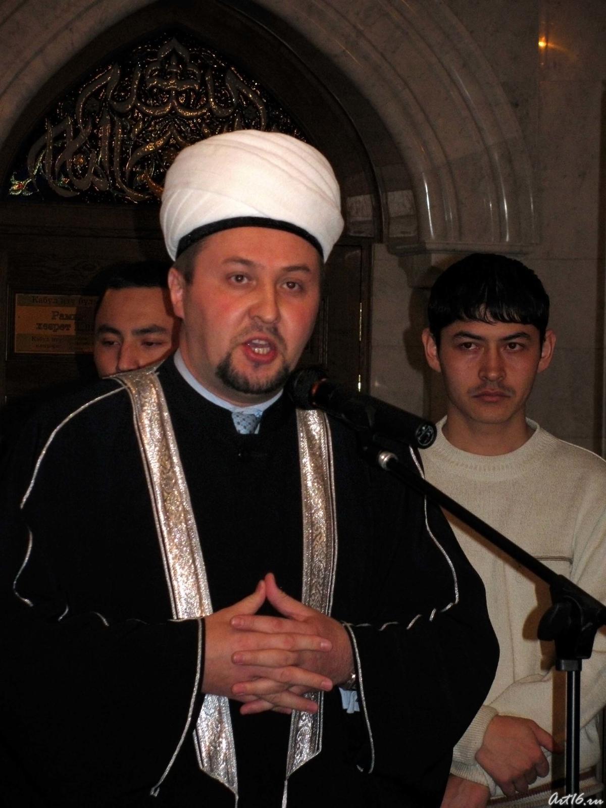 Фото №21780. Имам-хатыб мечети Кул Шариф Рамиль Юнусов