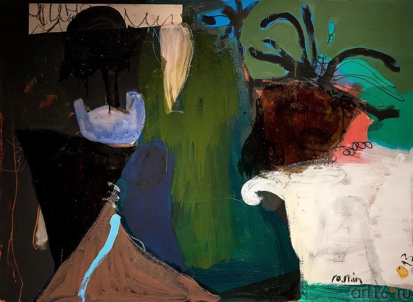 Рамин Нафиков «У окна»::Оптические переживания. Выставка абстрактного искусства в ЦСИ «Смена»