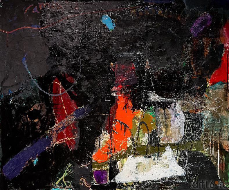 Рамин Нафиков «Ночь»::Оптические переживания. Выставка абстрактного искусства в ЦСИ «Смена»