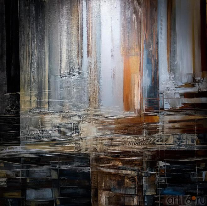 Рустам Салихов «Композиция №4»::Оптические переживания. Выставка абстрактного искусства в ЦСИ «Смена»
