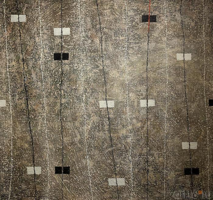 Ильгизар Хасанов «Ритмы III»::Оптические переживания. Выставка абстрактного искусства в ЦСИ «Смена»