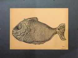Роберт Хасанов. Рыба-луна, 2002