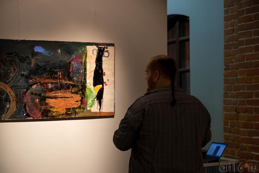 Косичка::Оптические переживания. Выставка абстрактного искусства в ЦСИ «Смена»