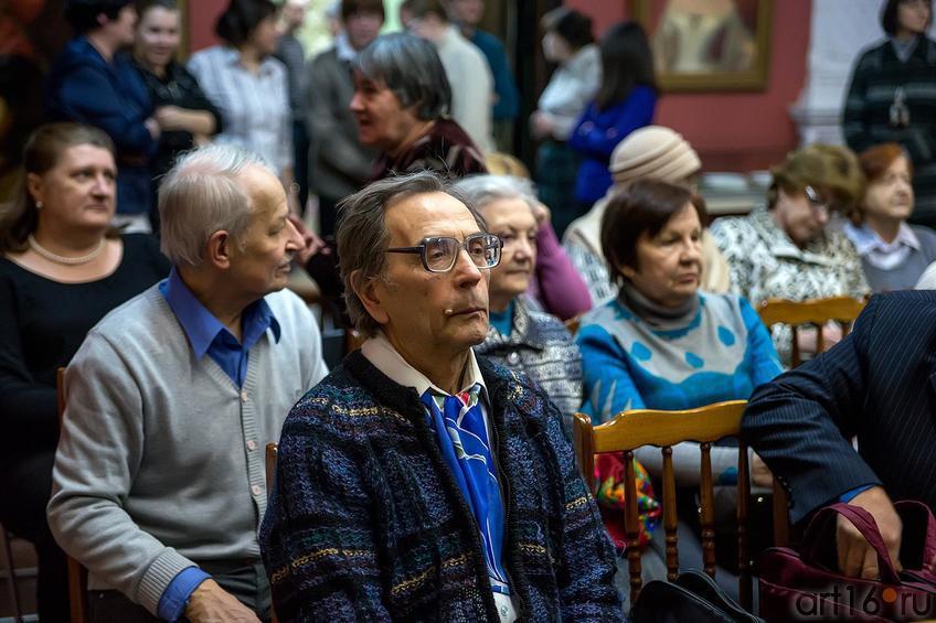 На литературно-музыкальном вечере «Рождественская фантазия»::Клуб любителей искусств. «Рождественская фантазия»